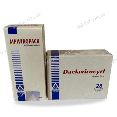 MPIViropack и Daklavirocyrl фото