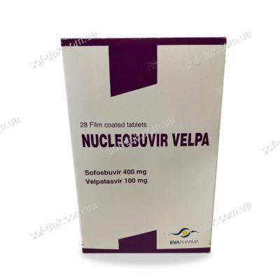 Nucleobuvir Velpa фото